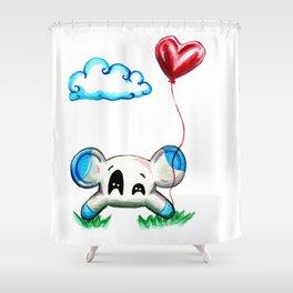 The Return of Toastie Shower Curtain
