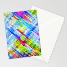 Colorful digital art splashing G468 Stationery Cards