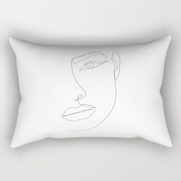 Eye Connection Rectangular Pillow