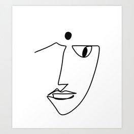BINDI MONOLINE Art Print