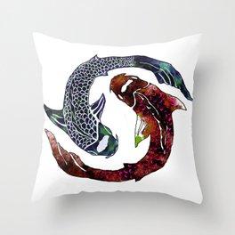 Yin Yang Part 2 Throw Pillow