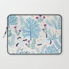 white birds garden Laptop Sleeve