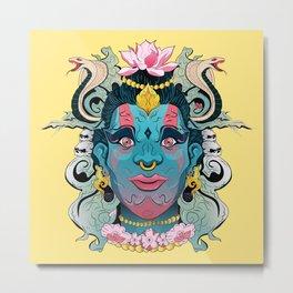 Hindu God Shiva Metal Print