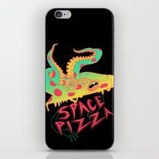 Space Pizza iPhone Skin