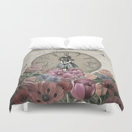 Alice In Wonderland - Wonderland Garden Duvet Cover