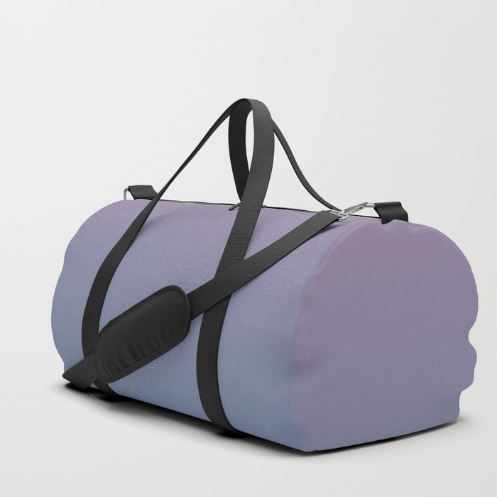 YOUTHFUL WATERS - Minimal Plain Soft Mood Color Blend Prints Duffle Bag
