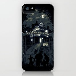 Zombies Inn iPhone Case
