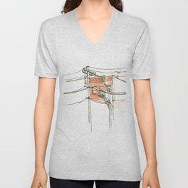 Wires Unisex V-Neck