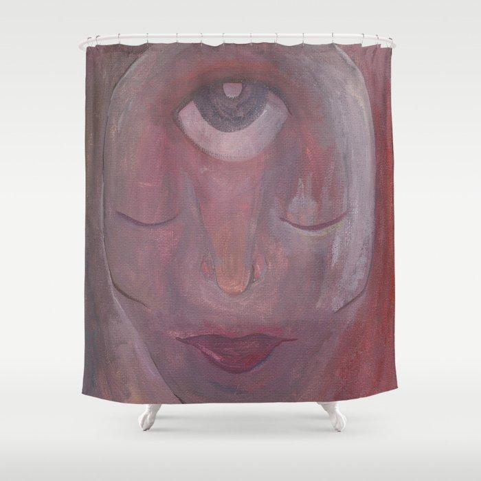 Reds Shower Curtain