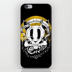 Dog skull iPhone & iPod Skin
