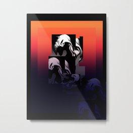 Morphed Reality Metal Print