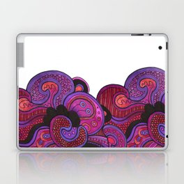 Purple Profile Laptop & iPad Skin