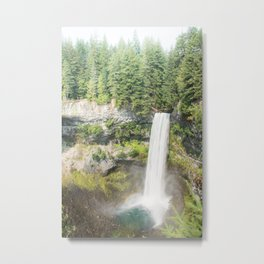 Brandy and Wine Waterfall Metal Print