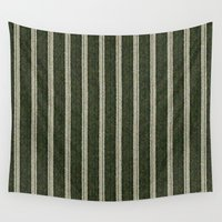 knit Wall Tapestries featuring Cactus Garden Knit 2 by Christopher Johnson