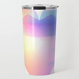 Sunset Heart Travel Mug