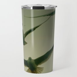 Green Hitchcock Travel Mug