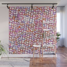 Snakes and Ladders and Bricks Wall Mural