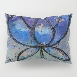Abstract - Lotus flower - Intuitive Pillow Sham