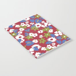 Modern bold liberty print Notebook