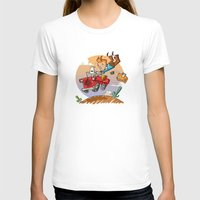 tintin T-shirts featuring Tintin and Snowy! by Ana Xoch Guillén