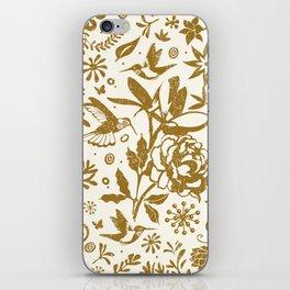 Oh, beautiful garden of mine iPhone Skin