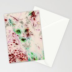 Red Fox Ghost Stationery Cards