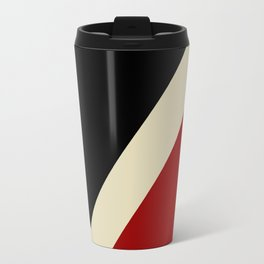 A Modernist V in Red, Black, and Gray - The University of Virginia's College at Wise Metal Travel Mug