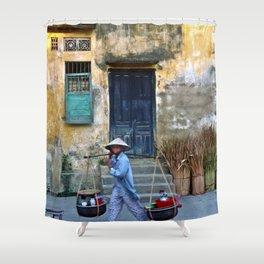 Vietnamese Street Sound Shower Curtain