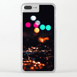 of ice and light Clear iPhone Case