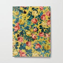 Summer Botanical Garden X Metal Print