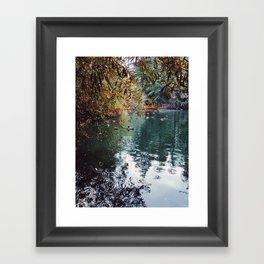 Heavenly Pond in Franklin Canyon Park, CA Framed Art Print