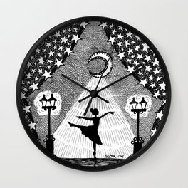 A Place in the Spotlight Wall Clock