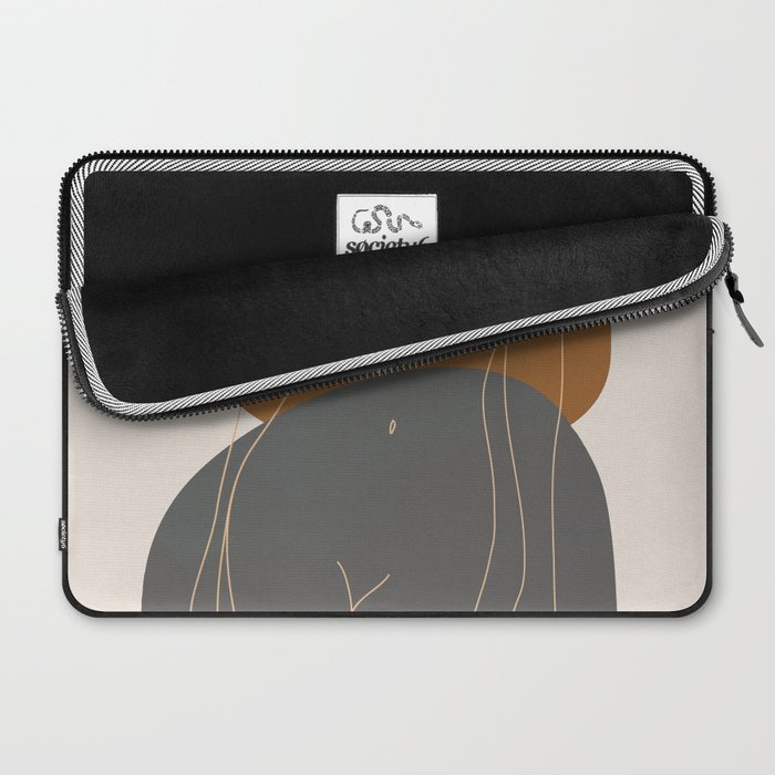 Line Female Figure 81 Laptop Sleeve