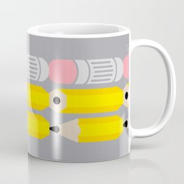 Deconstructed Pencil Coffee Mug