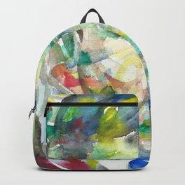 BORIS PASTERNAK - watercolor portrait.2 Backpack