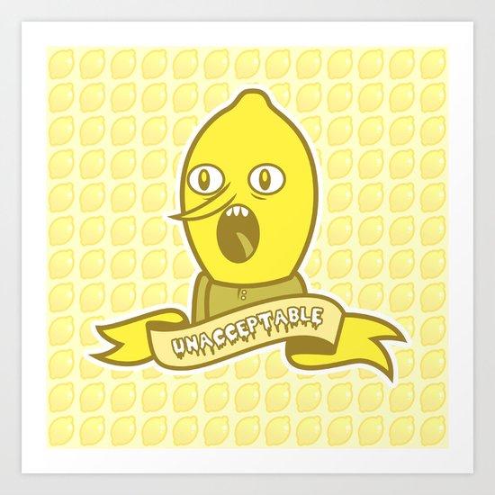 LemonGrunge Art Print