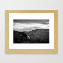 View from Haifoss - Iceland Framed Art Print