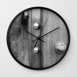 Simply Riveting Wall Clock