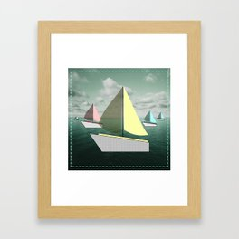 boat-full Framed Art Print
