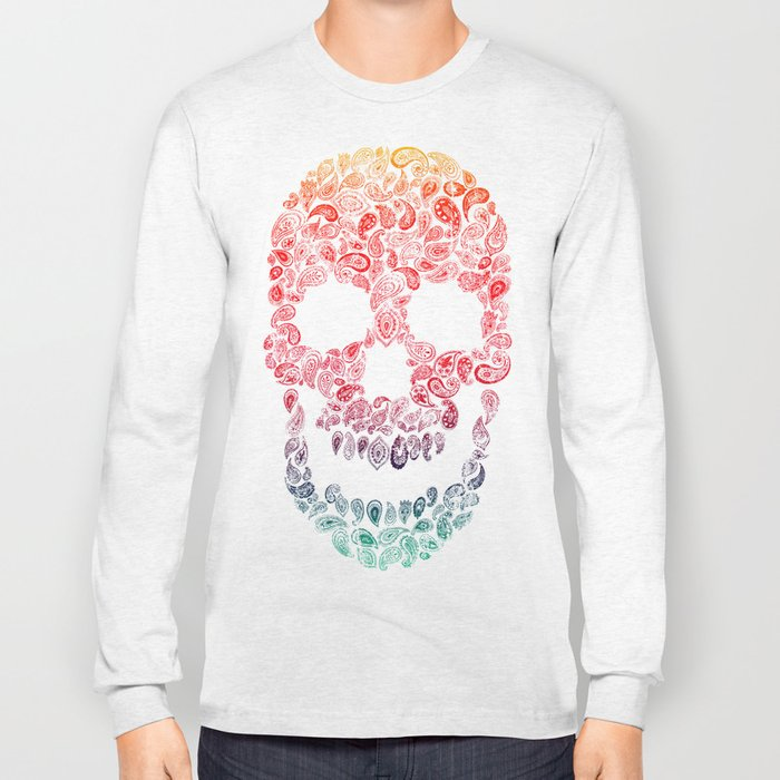 Death By Paisley Long Sleeve T-shirt