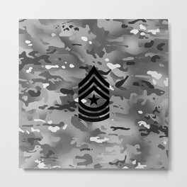 Sergeant Major (Urban Camo) Metal Print