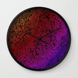 Love Mazes Wall Clock