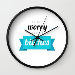 jennifer lawrence motivational poster #1 Wall Clock