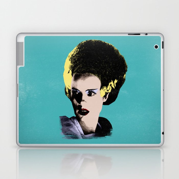 The Beautiful Bride of Frankenstein Laptop & iPad Skin