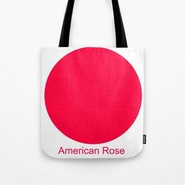 American Rose Tote Bag
