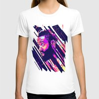 nba T-shirts featuring James harden nba illu v3 by mergedvisible