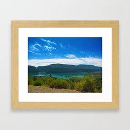 Joes Valley, Utah Framed Art Print