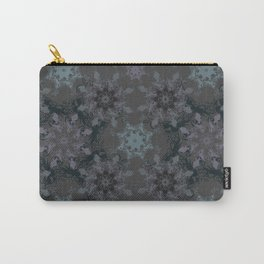 Damask, grey Carry-All Pouch