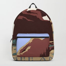 See America National Park Poster Backpack