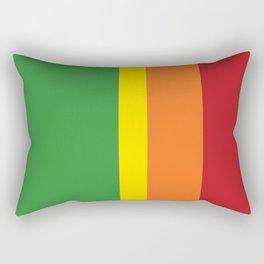 Cadmium Stripes Rectangular Pillow